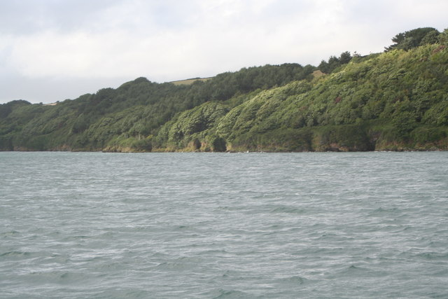 Foreshore on the Carrick Roads at Messack