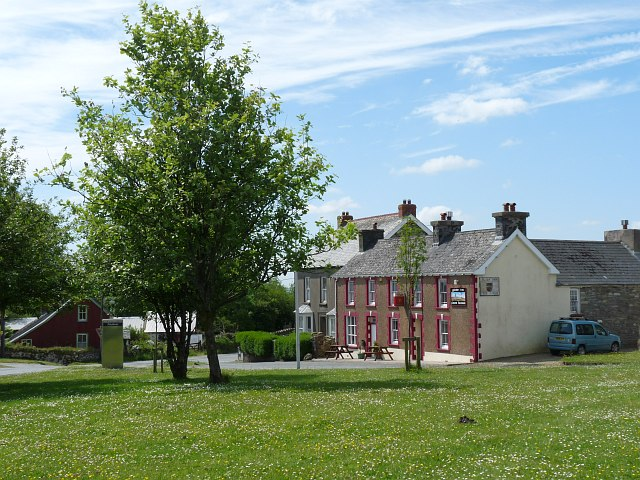 View across the village green