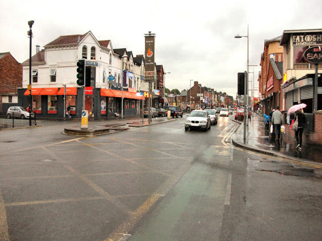 Wilmslow Road (Curry Mile)