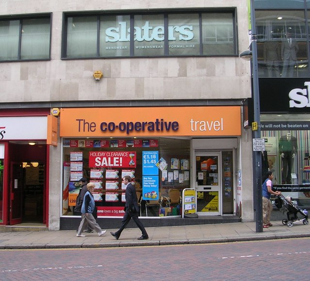 The co-operative travel - Albion Street