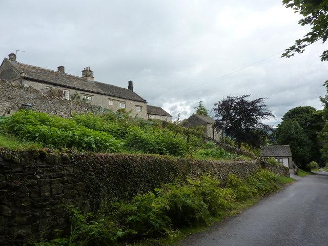 Smalldale Hall and kitchen garden