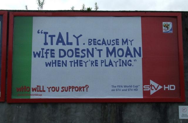 Scottish TV World Cup advert