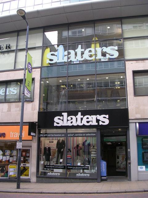 slaters - Albion Street