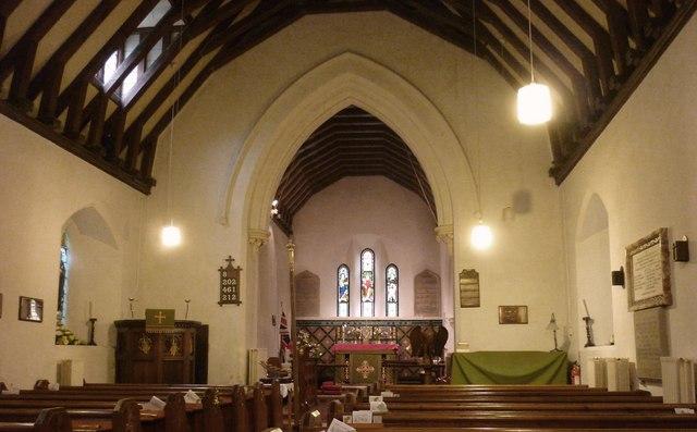 Interior, Bredhurst Church
