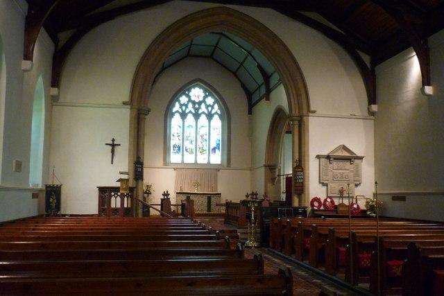 Interior, Chart Sutton Church