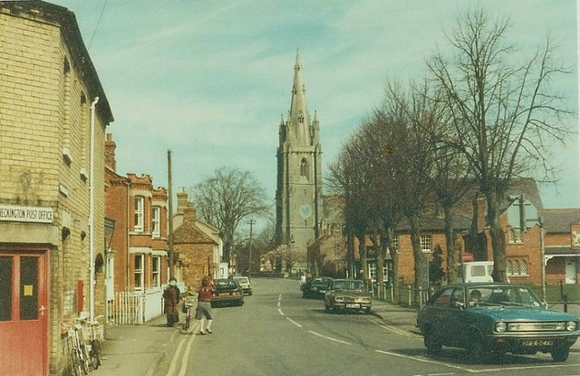 Church Street, Heckington in 1984