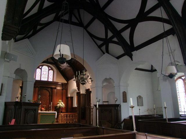 Interior, Wolverton Church