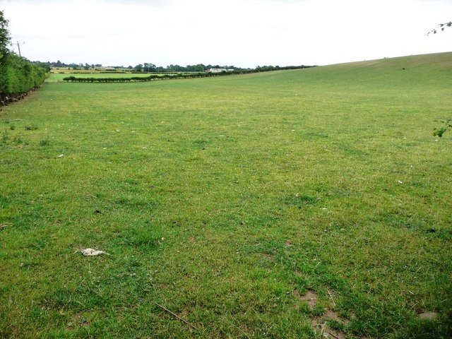 Field with footpath, Quarry Banks