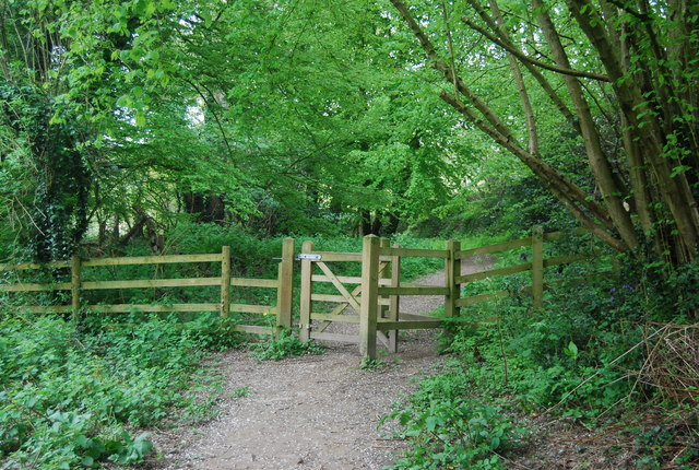 Kissing gate on the footpath to Horsted Keynes