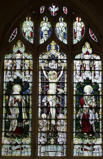 East window, Great Hampden Church