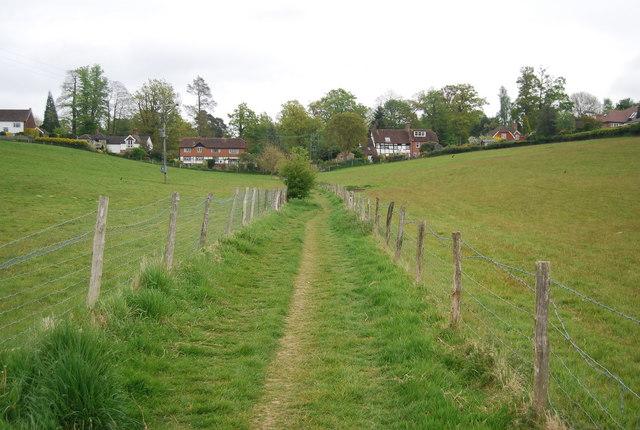 Footpath to Horsted Keynes