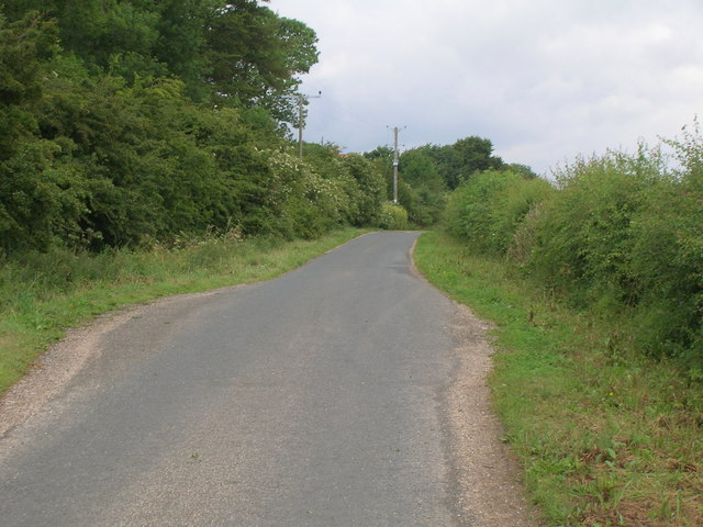 Minor road, South Wold