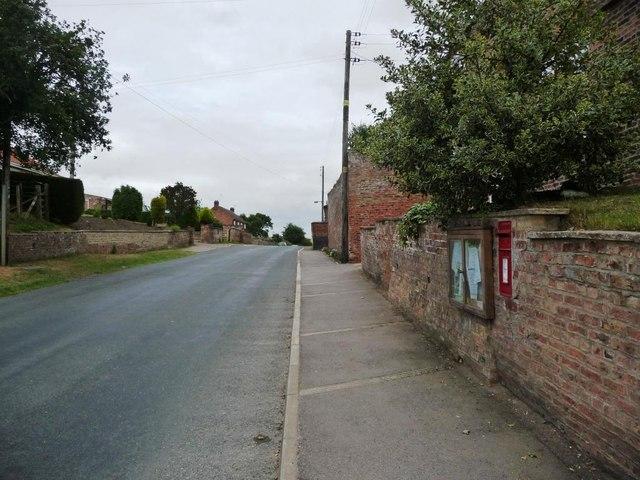 The main street, Hutton Sessay
