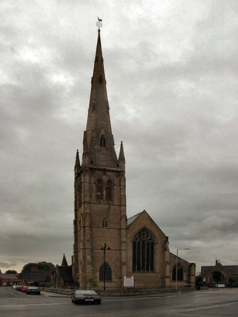 St Mary 39 S Church Hulme David Dixon Cc By Sa 2 0