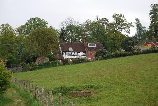Half timbered house, Church Lane