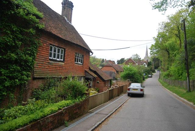 Tiled cottage, Church Lane