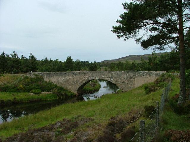 Bridge over the Dorback Burn