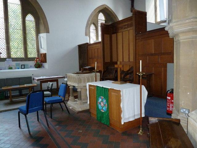 Inside St John's, Hythe (13)