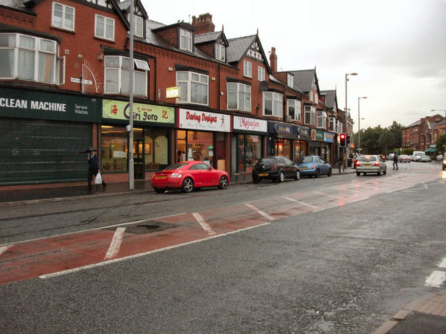 Withington Road Shops, Whalley Range
