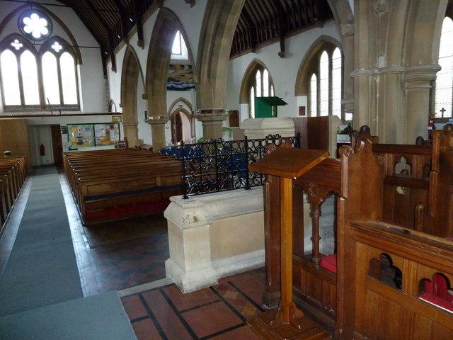 Inside St John's, Hythe (14)