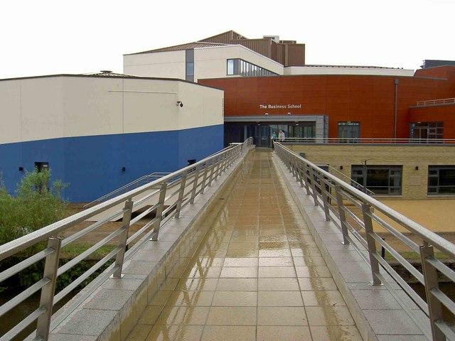The new business school Huddersfield University