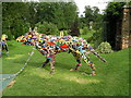 TF0506 : Burghley House Sculpture Garden by louise shefford