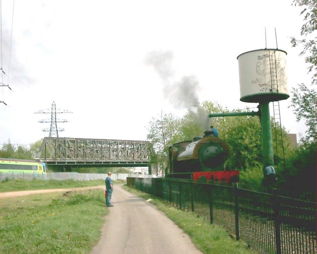 Nene Valley Railway  refilling at the Water Tower