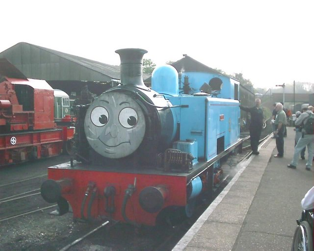 Thomas ready to go to bed at Wansford