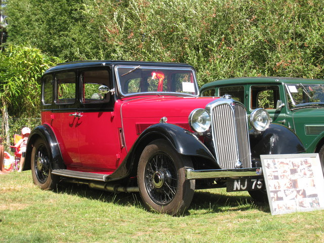 Rover 12 at Darling Buds Classic Car Show