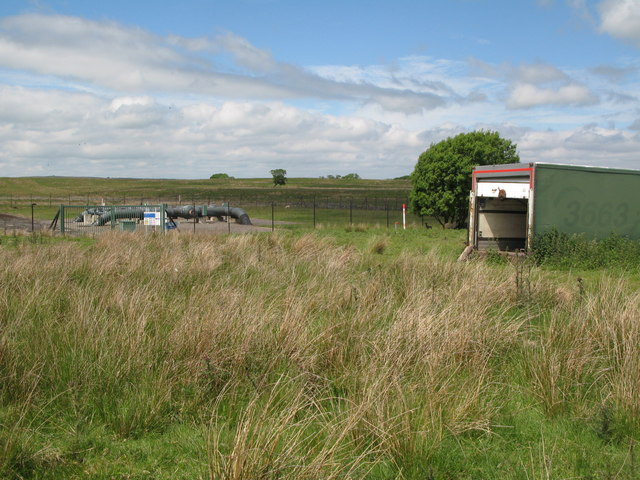 Secret nuclear bunker near Rowfoot