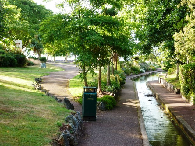 The King's gardens, Torquay