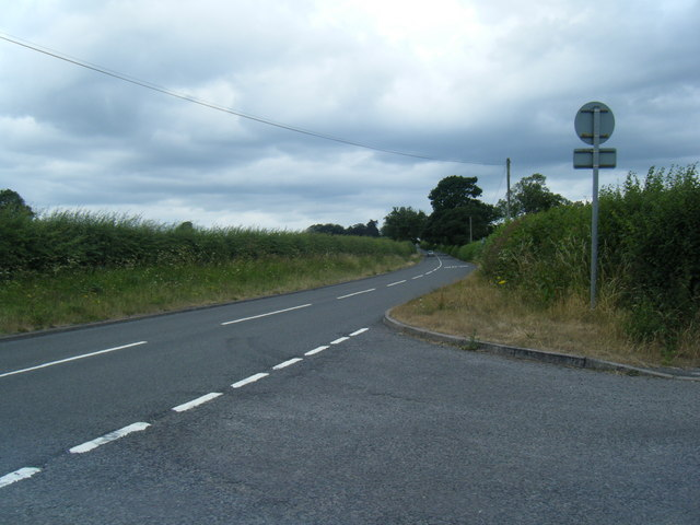 A5013 from lane to Chebsey