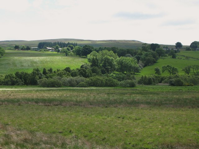 Rough pastures southeast of Lanehead