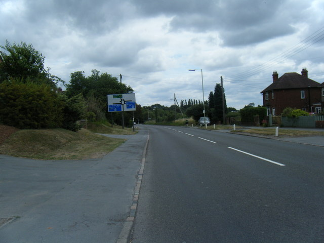 A5013 Creswell Grove near M6 junction