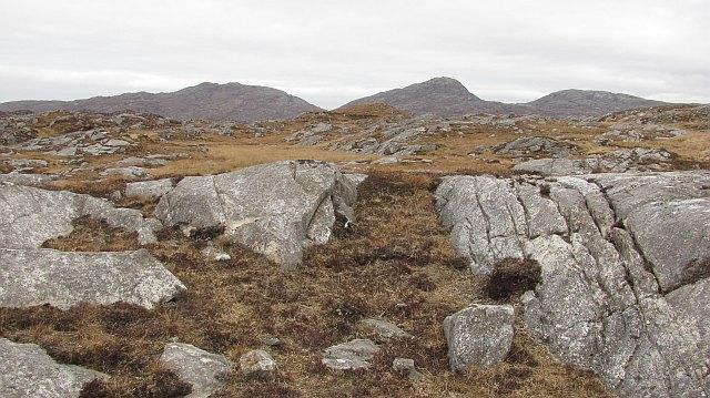Gneiss and bog, Fleoideabhagh