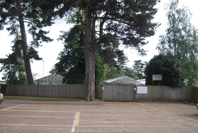 Car park, Earlham Park