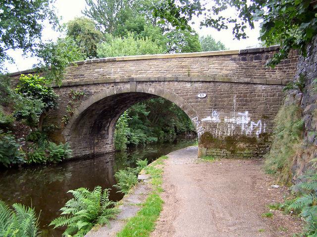 Rochdale Canal Bridge 57