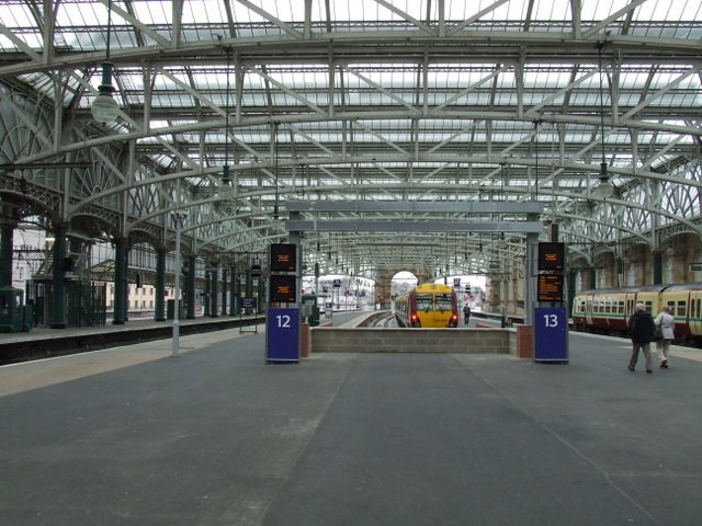 New platforms at Glasgow Central