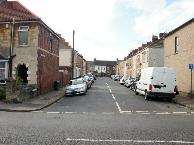Llewellin (or Llewellyn) Street, Newport