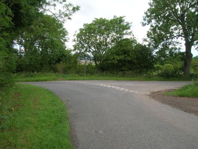 Junction of High Street / Thorpe Bassett Lane