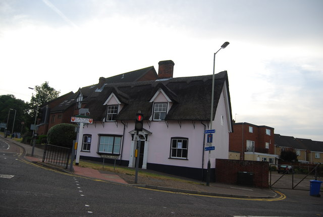 Thatched cottage, Church Lane, Eaton
