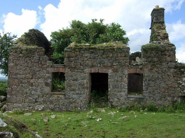 Blaen-waun farmhouse