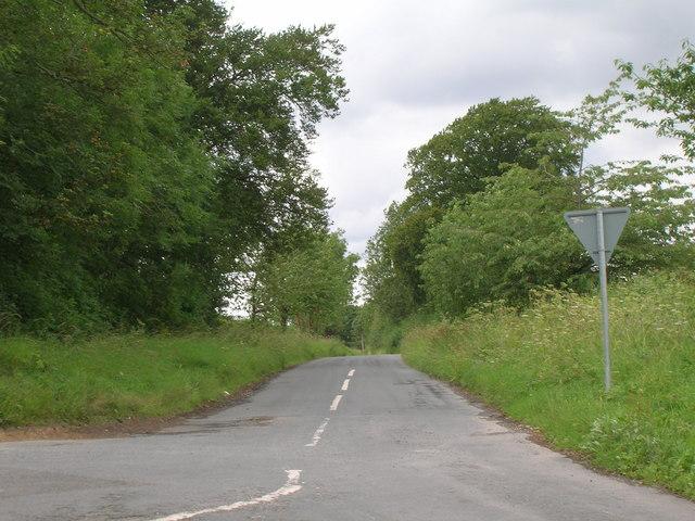 Minor road towards Malton