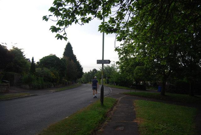 Church Lane, Marston Lane junction