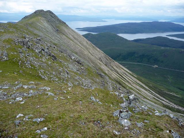 Glamaig ridge