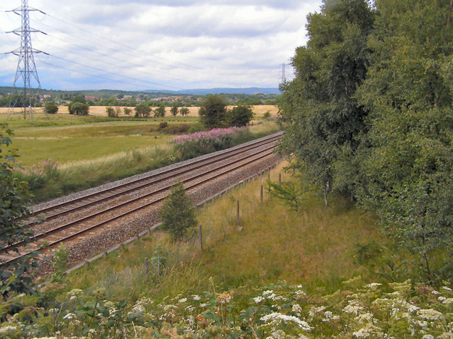 Railway near Stakehill