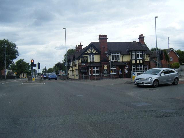 The Black Lion public house, Trent Vale
