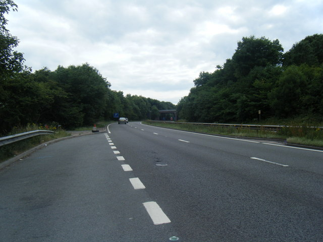 A500 Queensway looking west