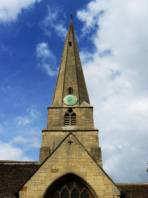 St Mary's Church spire, Cheltenham