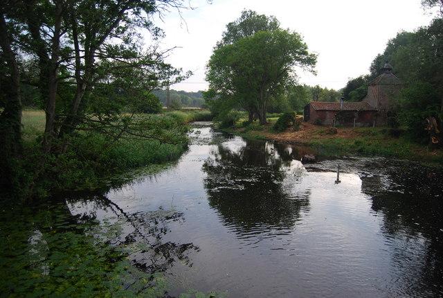 River Yare at Keswick Mill